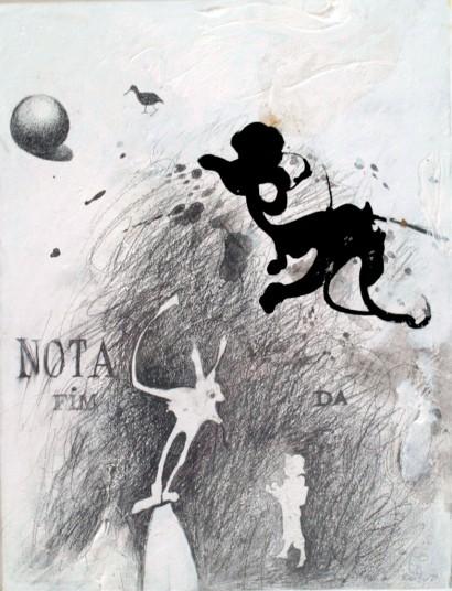 grafite sobre papel