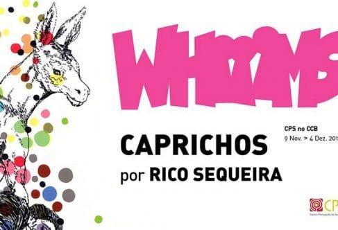 Exposição Whiiims por Rico Sequeira