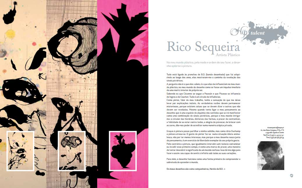 Revista HIP, texto de R.S, Lisboa – Portugal