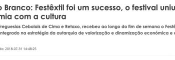 Reportagem Diário Digital de Castelo Branco
